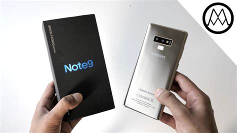 samsung galaxy note 9 unboxing clone