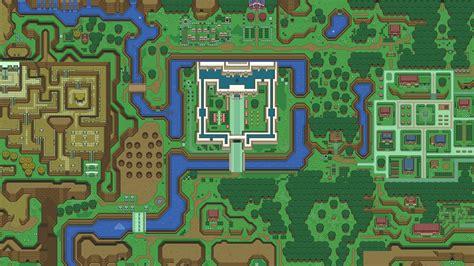 legend  zelda  link    map