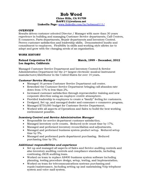 Data Center Manager Resume Sle by Customer Service Manager Resume Exles 28 Images
