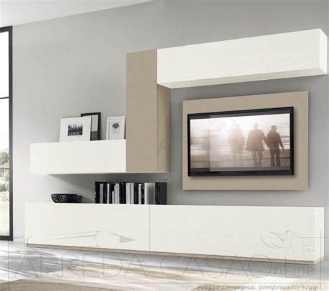 ebay mobili soggiorno mobile soggiorno parete attrezzata frassino bianco visone