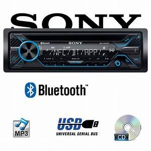 Sony Autoradio Bluetooth : sony mex n4200bt bluetooth cd mp3 usb autoradio ~ Jslefanu.com Haus und Dekorationen