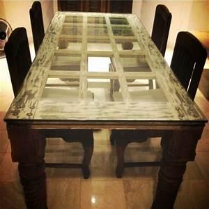 1001 ideen f r alte t ren dekorieren deko zum erstaunen for Tisch aus alter tür