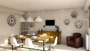 Sejour Style Industriel : decoration de salle de sejour 22 ~ Teatrodelosmanantiales.com Idées de Décoration
