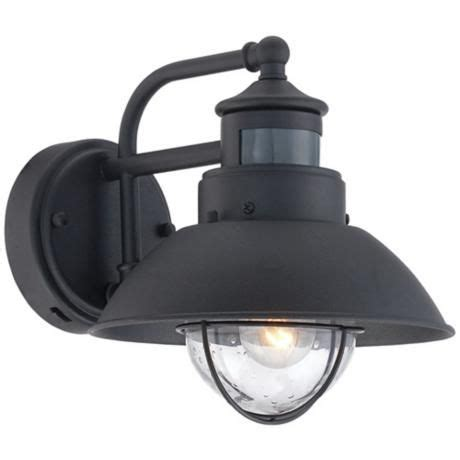 traditional fallbrook black 9 high motion sensor outdoor wall light 17 best images about outdoor lighting fixtures on