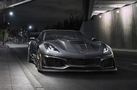 chevrolet corvette zr revealed autocar