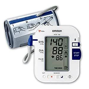 Amazon.com: Omron HEM-780 Automatic Blood Pressure Monitor