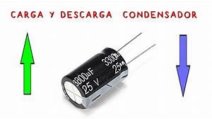 Carga Y Descarga Condensador El U00e9ctrico  Proyecto De Ciencias