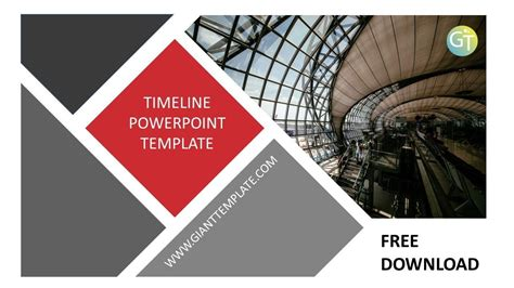 powerpoint templates timeline infographic