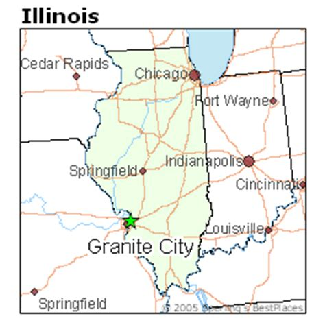 best places to live in granite city illinois