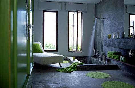 sunken tub  cement interior design ideas ofdesign
