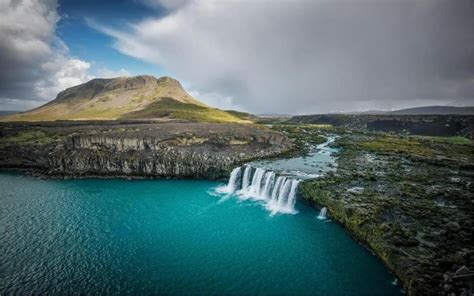 Landscape Nature Water Fall Iceland River Mountain Fall
