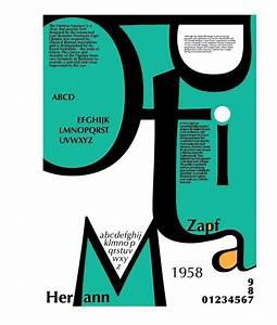 Optima Typeface Poster on Behance