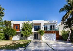 Modern, Contemporary, Villa, In, Miami