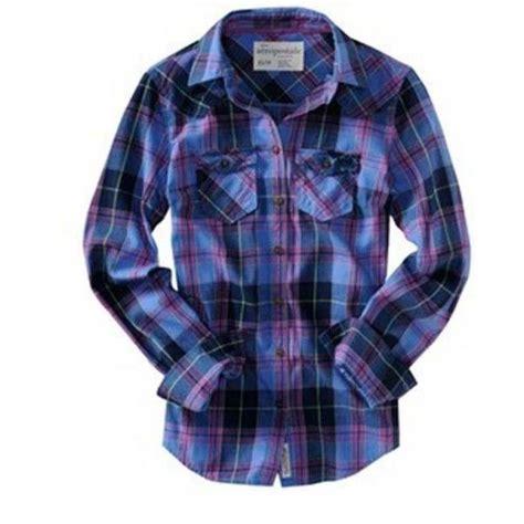 Camisa Xadrez Feminina Aeropostale - Tam M - Bazar da MiMi