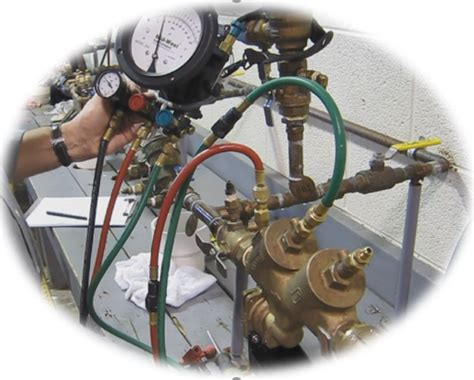 backflow prevention assembly certified tester