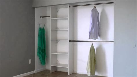 corner closet hanging rods home design ideas