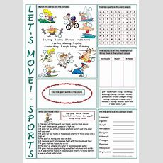 Sports Vocabulary Exercises Worksheet  Free Esl Printable Worksheets Made By Teachers