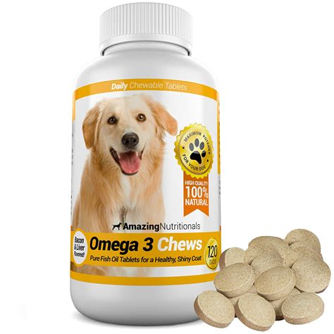 omega  chews vitamins  dogs pet territory