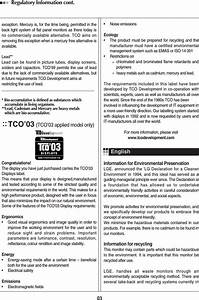 Lg Electronics Usa M4224cg Lcd Monitor User Manual User S