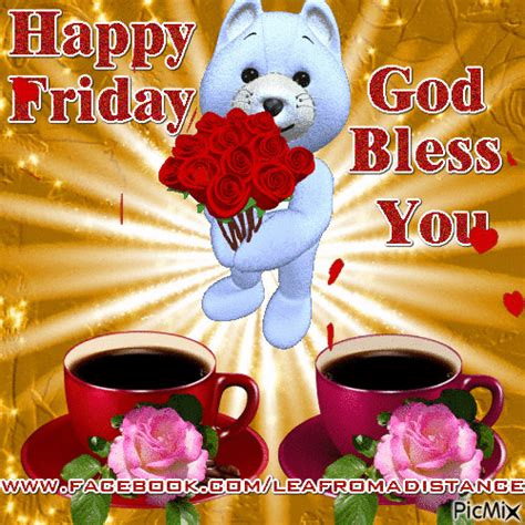 cute happy friday god bless  animation pictures