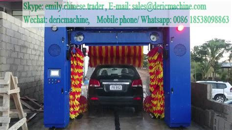 Rollover Brush Type Of Car Wash Machine Shenzhen Deric