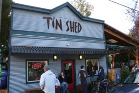 Tin Shed Garden Cafe Portland Oregon by The Tin Shed Garden Cafe Portland Or