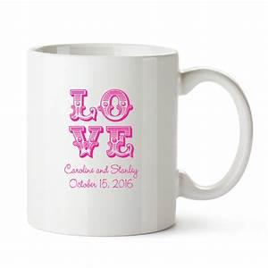 personalized wedding white coffee mug favors With coffee mug wedding favors