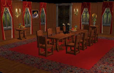jeux de la cuisine 1er étage château nid de l 39 aigle neuschwanstein sims 2