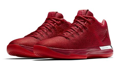Air Jordan 31 Low All Red Chicago Release Date 897564 601