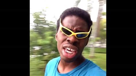 Black Guy With Glasses Meme - feel the rain on your skin no one else can feel it for you vine loop youtube