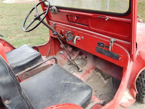 willys cja fire engine jeep boyer conversion
