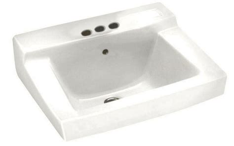 wall mounted bathroom sink ada height centerset faucet