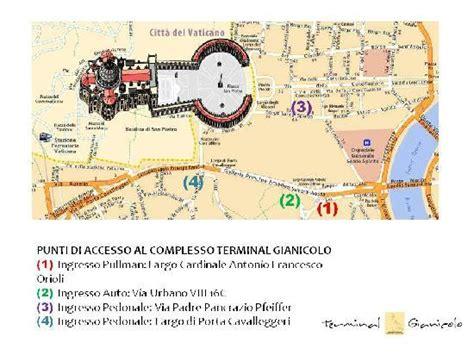 Parcheggio Terminal Gianicolo Con Ingresso Da Via Urbano Viii Self Service Restaurant Terminal Gianicolo Roma