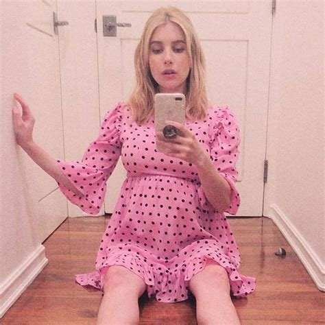Check Out Emma Roberts' Chic Pregnancy Style - E! Online - CA