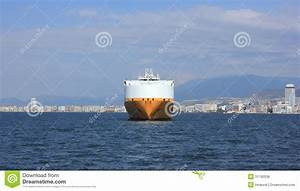Front Of Cargo Ship Royalty Free Stock Image - Image: 31190336