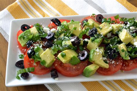 Tomato And Avocado Salad  Good Cooking