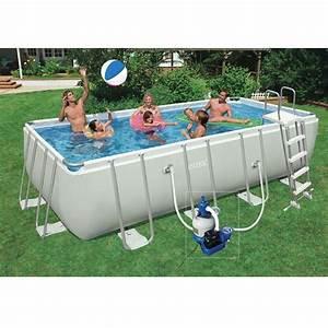 Piscine Rectangulaire Tubulaire Pas Cher : piscine intex pas cher ~ Dailycaller-alerts.com Idées de Décoration
