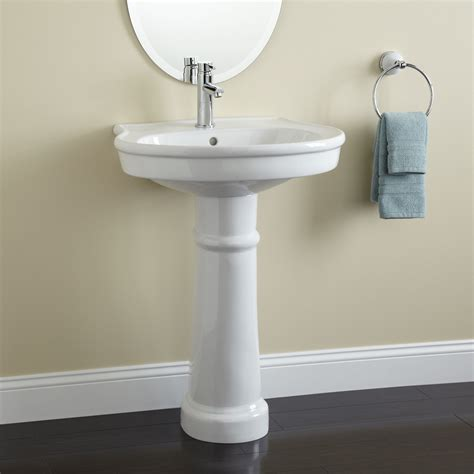 bathroom pedestal sink ideas therese porcelain pedestal sink bathroom