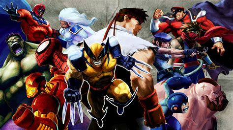 Comics Forever Marvel Vs Capcom 2 New Age Of Heroes