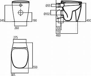 Sanitari Ideal Standard Filomuro Dea Aquablade Con Sedile Soft Close