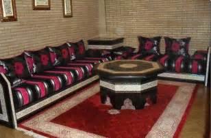 marokkanisches wohnzimmer tissu marocain pour sedari déco salon marocain