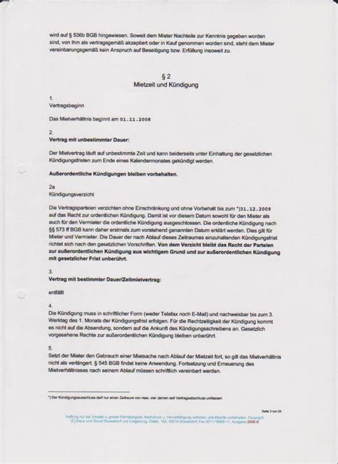 Ordentliche Kündigung Mieter by Ordentliche K 252 Ndigung Mietvertrag K 252 Ndigung Vorlage