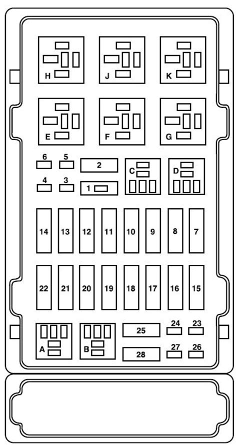 ford  series    fuse box diagram auto genius