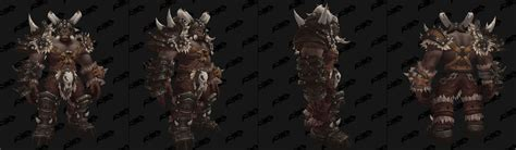 New Blackrock tint for Mag'har Orc Heritage Armor : wow