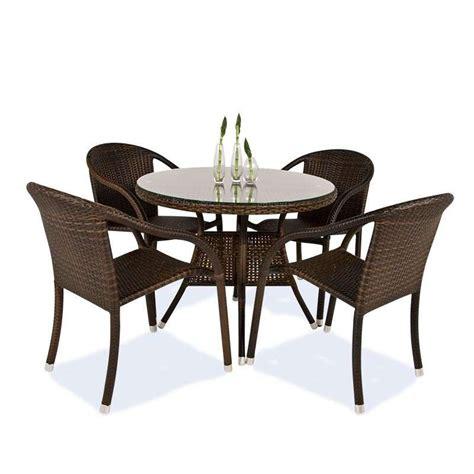 Fauteuil de jardin en ru00e9sine tressu00e9e imitation rotin - Havana - 4 Pieds  tables chaises et ...