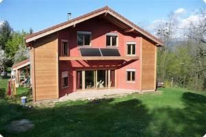 Maison Bioclimatique Passive : maison en bois bioclimatique maison bois passive maison bois moderne ~ Melissatoandfro.com Idées de Décoration