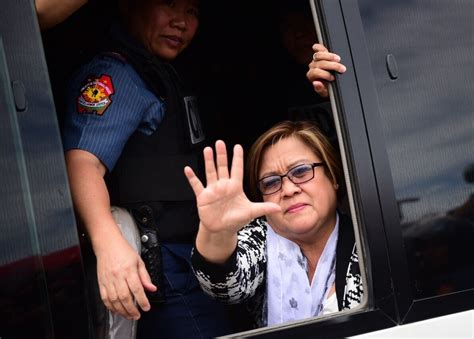 Leila De Lima Among Fortune's 'world's 50 Greatest Leaders