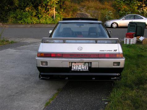 1986 subaru xt bhamxt 1986 subaru xt specs photos modification info at