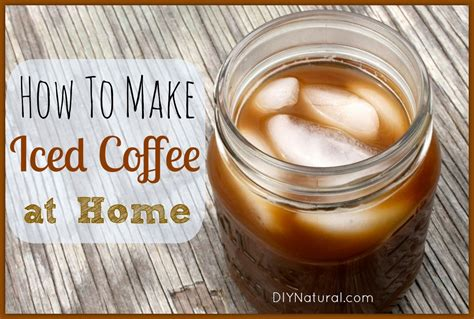 iced coffee recipe   brew   home