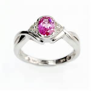 pink engagement ring wedding ring pink ring diamantbilds